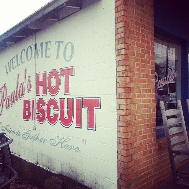 Paula's Hot Biscuit