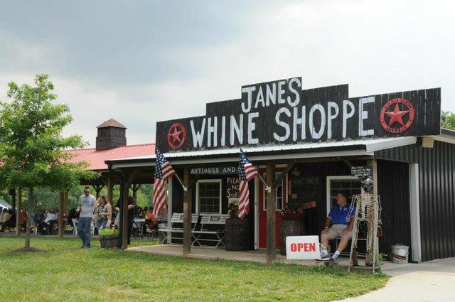 Jane's Saddlebag Whine Shoppe
