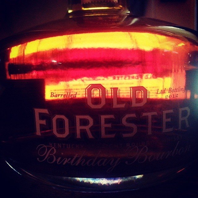 Old Forester 2012 Birthday Bourbon