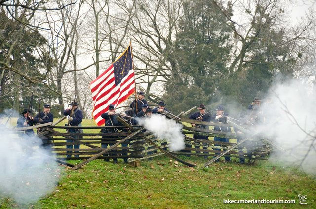 Mill Springs Re-enactment