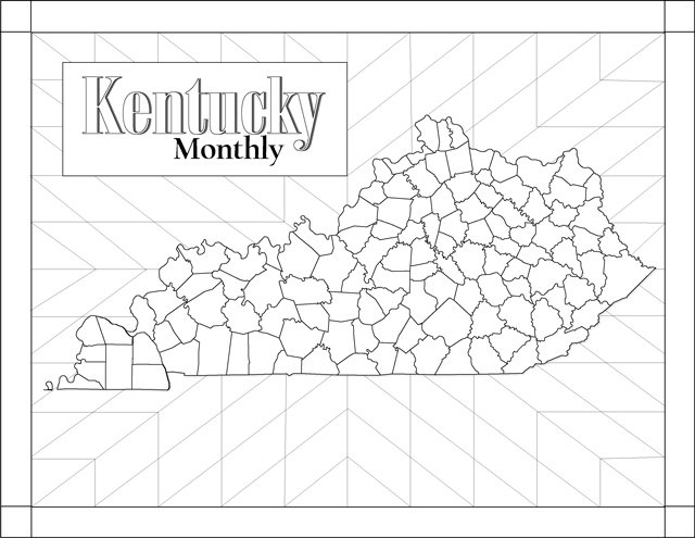Quilt Coloring Page kentuckymonthlycom