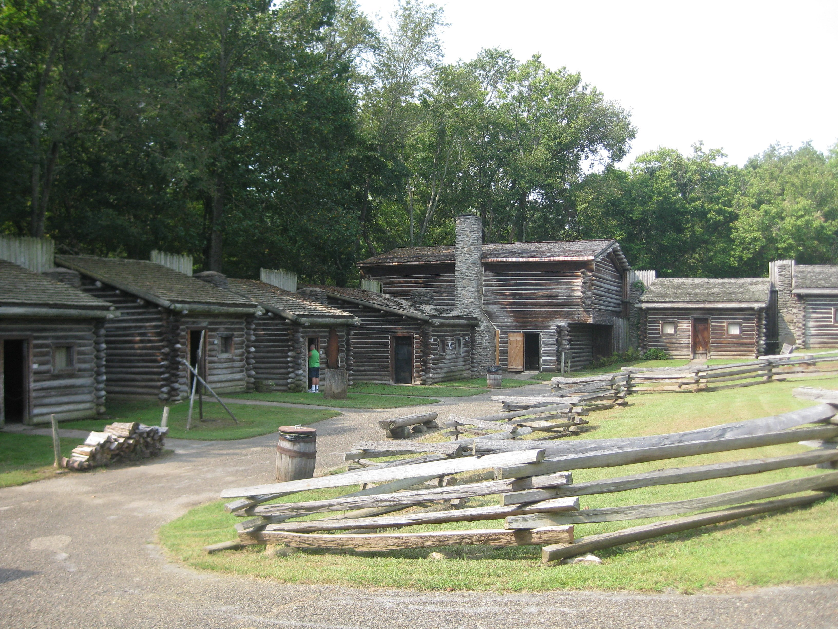 Fireside Chats at Ft  Boonesborough State Park