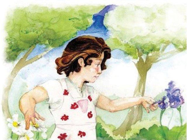 Across Grandmas Garden, book