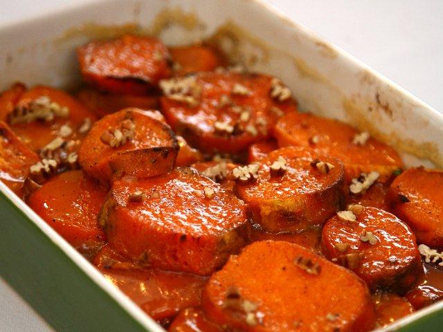 Orange Glazed Sweet Potatoes