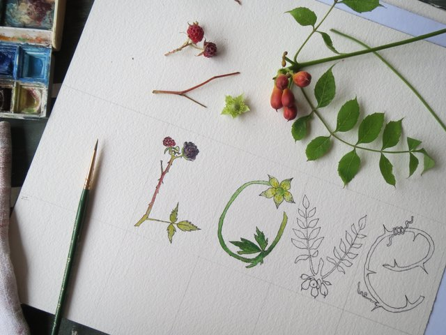 botanical letters