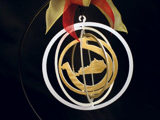 Lucky Kentucky Ornament