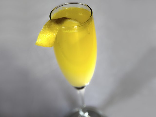 Orange Blossom Fizz Cocktail