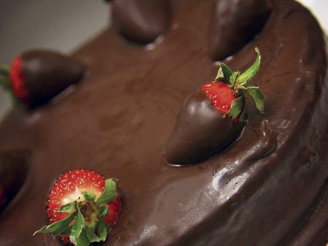 Chocolate Hazelnut Torte whole