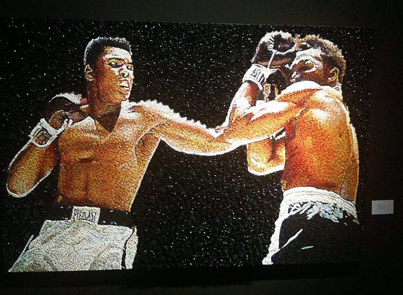 Ali painting fight