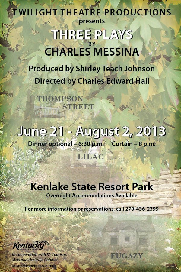 Three Plays by Charles Messina